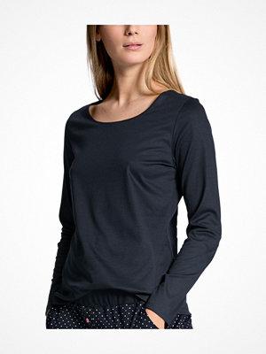 Pyjamas & myskläder - Calida Favourites Dreams Shirt Long Sleeve Darkblue