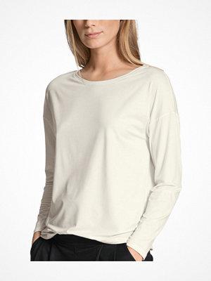 Pyjamas & myskläder - Calida Favourites Essentials Shirt Long Sleeve 137 Ivory