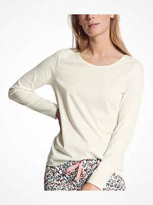 Pyjamas & myskläder - Calida Favourites Dreams Shirt Long Sleeve White
