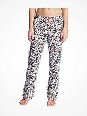 Pyjamas & myskläder - Calida Favourites Dreams Pants White Pattern-2