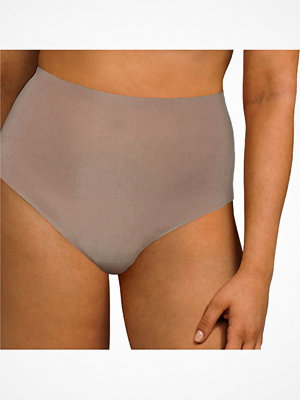 Trosor - Chantelle Soft Stretch High Waisted Thong Cappuccino