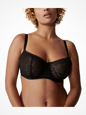 Chantelle Day To Night Half Cup Bra Black