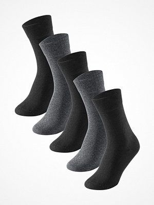 Strumpor - Schiesser 5-pack Men Socks Grey/Black
