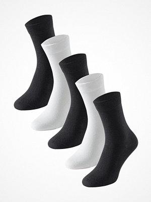Schiesser 5-pack Women Socks Black/White