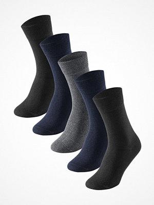 Strumpor - Schiesser 5-pack Men Socks Grey/Blue