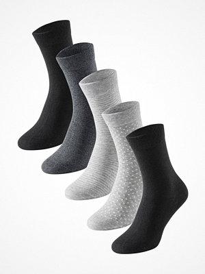 Schiesser 5-pack Women Socks Grey/Black
