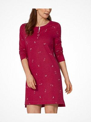 Nattlinnen - Triumph Lounge Me Cotton Character Nightdress Pink