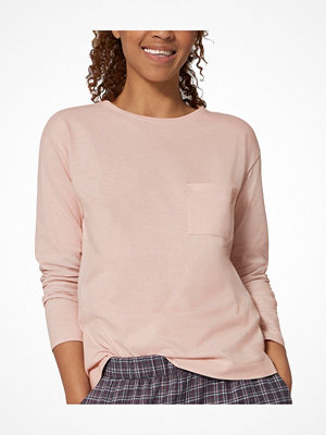 Triumph Lounge Me Cotton Mix and Match LSL Top Lightpink
