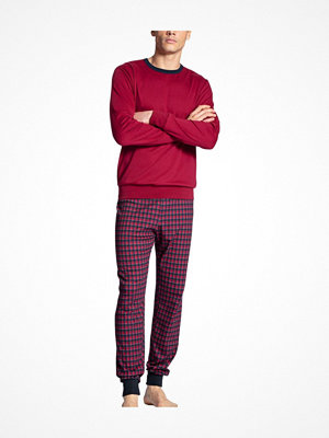 Pyjamas & myskläder - Calida Family and Friends Pyjama With Cuff Red