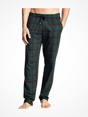 Pyjamas & myskläder - Calida Family and Friends Pants Green Pattern