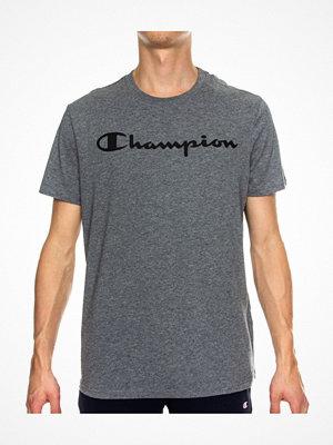 Champion Classics Men Crewneck T-shirt Grey