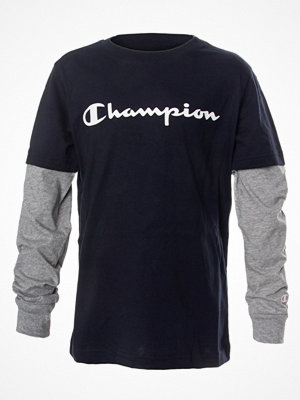 Pyjamas & myskläder - Champion Classics Long Sleeve T-Shirt For Boys Navy-2