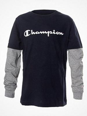 Champion Classics Long Sleeve T-Shirt For Boys Navy-2