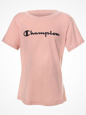 Champion Classics Crewneck T-shirt For Girls Ancientpink