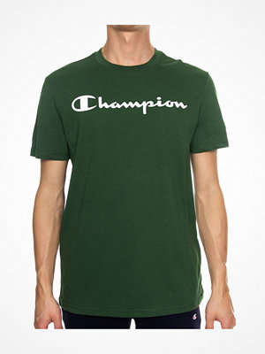 Pyjamas & myskläder - Champion Classics Men Crewneck T-shirt Darkgreen