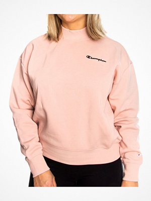Champion Classics Women High Neck Sweatshirt Ancientpink