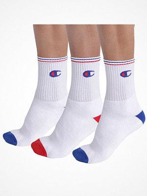 Strumpor - Champion Underwear 3-pack Champion Legacy Performance Crew Socks White