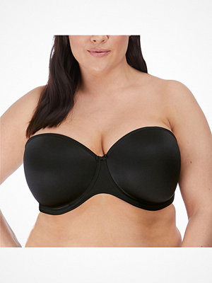 Elomi Smooth Moulded Strapless Bra Black