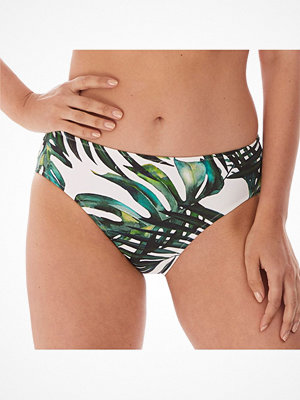 Fantasie Palm Valley Mid Rise Brief White Pattern-2