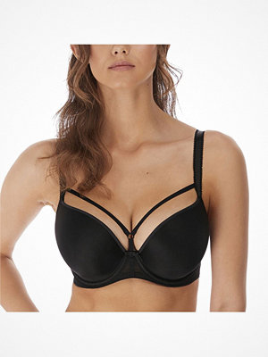 Freya Awakening Moulded Plunge T-Shirt Bra Black
