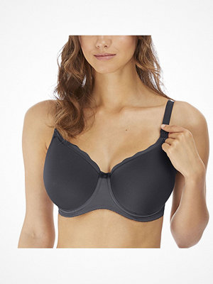 Freya Pure Sculpt Underwire Moulded Nursing Bra Darkgrey