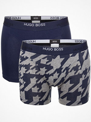 Hugo Boss 2-pack BOSS Print Boxer Blue/Grey