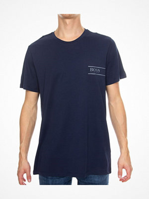 Pyjamas & myskläder - Hugo Boss BOSS RN 24 Crew Neck T-shirt Navy-2