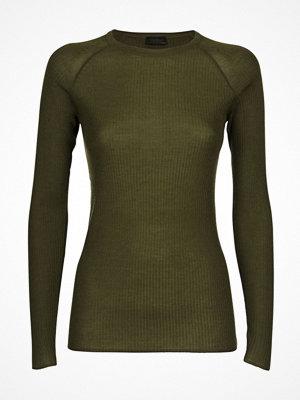 Pyjamas & myskläder - Pierre Robert X Jenny Skavlan Wool Long Sleeve Olive
