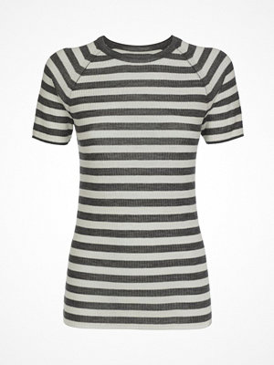 Pyjamas & myskläder - Pierre Robert X Jenny Skavlan Wool T-Shirt Greystriped