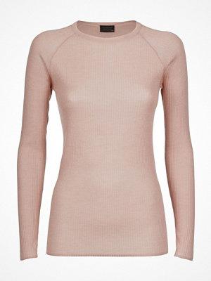 Pyjamas & myskläder - Pierre Robert X Jenny Skavlan Wool Long Sleeve Lightpink