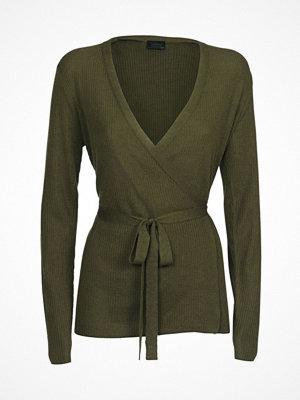 Pyjamas & myskläder - Pierre Robert X Jenny Skavlan Wool Wrap Top Olive