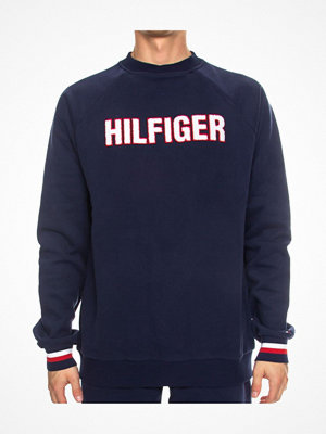Pyjamas & myskläder - Tommy Hilfiger Modern Stripe Recycled Cotton Top Navy-2