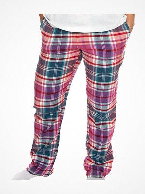 Trofé Trofe Flannel Pyjama Pants Pink Pattern