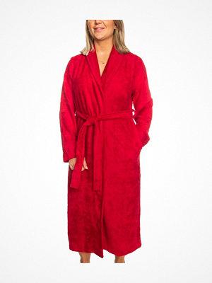 Trofé Trofe Bamboo Robe Long Sleeve Red