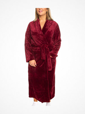 Trofé Trofe Silk Fleece Robe Long Sleeve Red