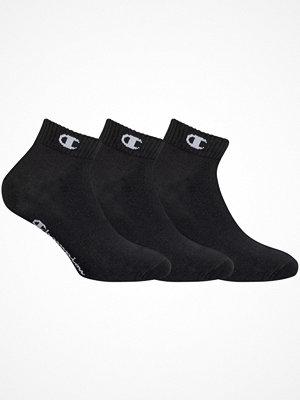 Strumpor - Champion Underwear 3-pack Champion High Performance Socks Black