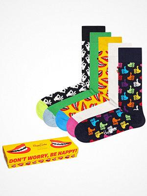 Strumpor - Happy Socks 5-pack Happy Socks Don't Worry, Be Happy Gift Box Multi-colour