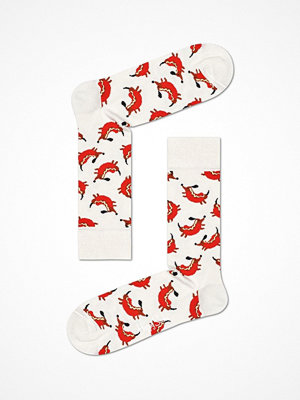 Happy Socks Happy Socks Hot Dog Dog Sock White Pattern-2