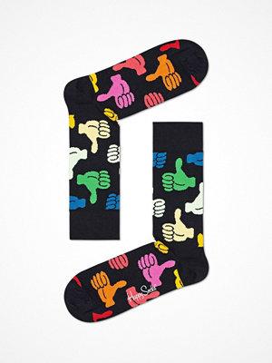 Strumpor - Happy Socks Happy Socks Big Thumbs Up Sock Black pattern-2