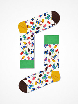 Happy Socks Happy Socks Milkshake Cow Sock White Pattern-2