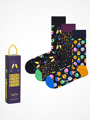 Happy Socks 3-pack Happy Socks Celebration Socks Gift Box Black pattern-2