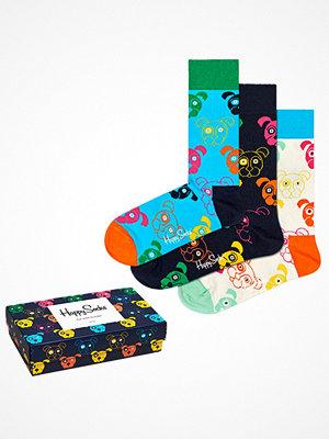 Strumpor - Happy Socks 3-pack Happy Socks Mixed Dog Socks Gift Box Multi-colour