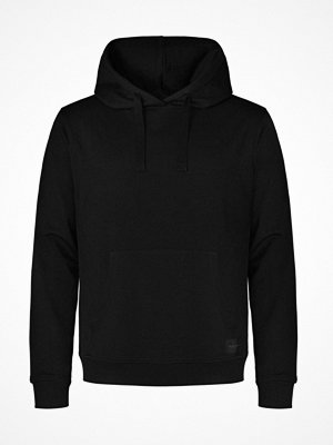 Pyjamas & myskläder - Resteröds Bamboo Hooded Shirt Black