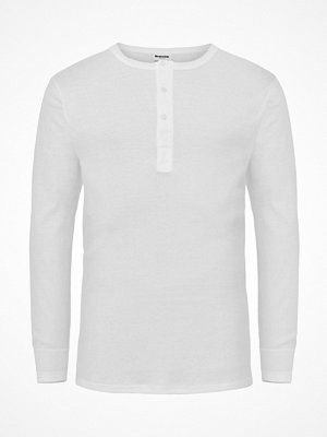 Pyjamas & myskläder - Resteröds Organic Cotton Grandpa Long Sleeve White