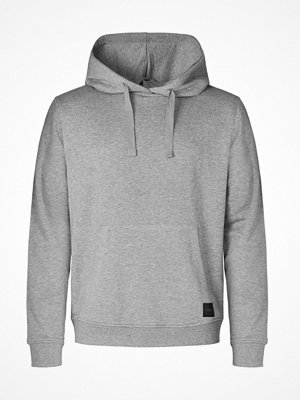 Pyjamas & myskläder - Resteröds Bamboo Hooded Shirt Grey