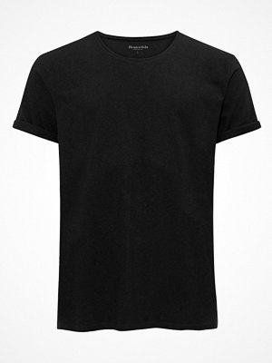 Pyjamas & myskläder - Resteröds Jimmy Tee Cotton Linen Crew Neck Black
