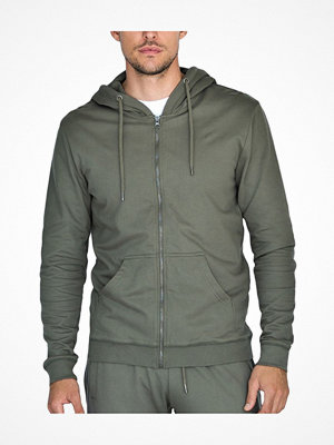 Pyjamas & myskläder - Bread and Boxers Organic Cotton Men Hoodie Olive