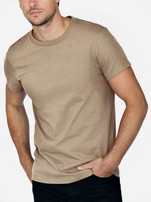 Pyjamas & myskläder - Bread and Boxers Bread and Boxer Cotton Crew Neck Khaki
