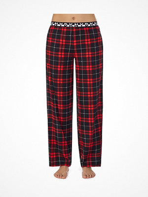DKNY 100  Pant Red/Black