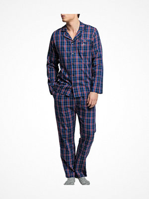 Pyjamas & myskläder - Gant Woven Pyjama Gift Set Navy Checked